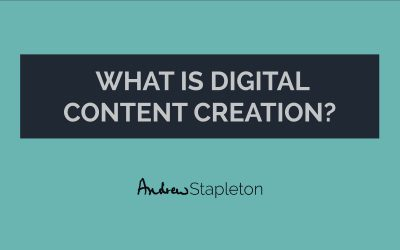 What is digital content creation?